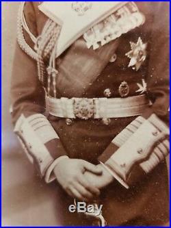 1902 Prince Henry of Prussia Royal Presentation Framed Signed Photo Wilhelm bro