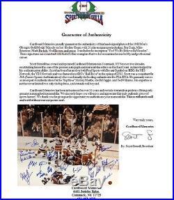 1980 USA Olympic Hockey ENTIRE Team Signed 20 Auto ins Framed 16x20 Photo Coa