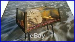 1988 SIGNED ARTHUR TRESS A Golden Carp NUMBERED FRAMED Fish Tank Sonata FINE