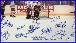 1994 Rangers Stanley Cup Team signed 16x24 photo framed 17 auto Messier Steiner