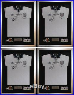 4 X Frame For Signed Football Shirt plus any 2 Landscape 6 x 4 photos