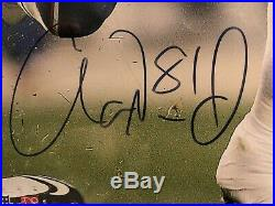 AARON HERNANDEZ Autographed Signed 16x20 Photo Patriots Gators Certified Framed