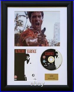 Al Pacino / Scarface / Signed Photo / Autograph / Framed / COA