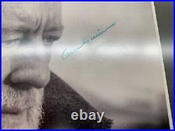 Alec Guinness Signed 8x10 Photo Custom Framed BAS Beckett SWAU