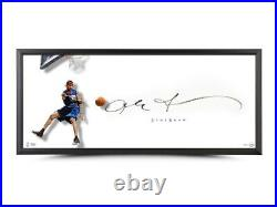 Allen Iverson Signed Autographed 20X46 Photo Framed The Show The Dish 76ers UDA