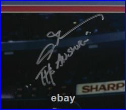Allen Iverson Signed Framed 76ers 16x20 Photo vs. Jordan The Answer JSA ITP