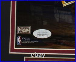 Allen Iverson Signed Framed 8x10 76ers Photo VS Kobe Bryant JSA
