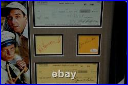 Andy Griffith Cast Signed Collage Ron Howard Don Knotts Jim Nabors Framed Becket