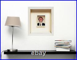 Andy Warhol Polaroid Self Portrait Original Polaroid Framed Gallart