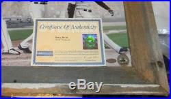 BARRY BONDS AUTOGRAPHED SIGNED SAN FRANCISCO GIANTS 16x20 FRAMED PHOTO STEINER