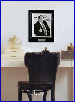 BEST Signed RUSH LIMBAUGH Autograph PHOTO, Frame, Plaque, BOOK, COA UACC RD#228