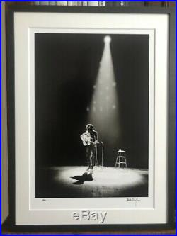 BOB DYLAN terrific HAND SIGNED photo, limited 1/25 only (Genesis Publications)