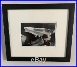 BRUCE DAVIDSON signed limited edition photograph 6x6 Square Magnum FRAMED