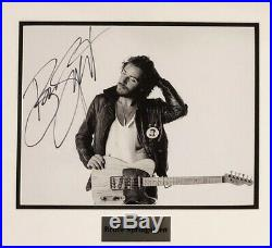 BRUCE SPRINGSTEEN FRAMED AUTOGRAPHED SIGNED 11x14 PHOTO The E Street Band withCOA