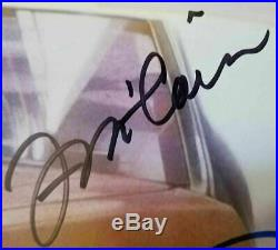 Back to the Future Cast (7) Signed Michael J Fox Autographed 11x14 FRAMED Photo