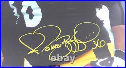 Ben Roethlisberger & Bettis Signed Framed 16x20 Photo Steelers M59367