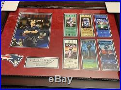 Bill Belichick Autographed Signed New England Patriots Framed 8x10 Photo! Brady