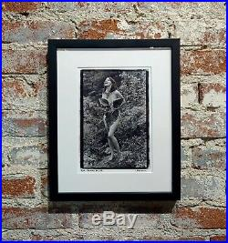 Bjork Nude in Woodstock- Photograph Signed by Laura Levine, 1991