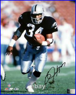 Bo Jackson Autographed Signed Framed 16x20 Photo Oakland Raiders Beckett 177401