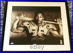 Bo Jackson autographed signed Knows BB/FB Nike 16x20 photo poster framed PSA/DNA
