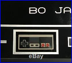 Bo Jackson signed 16x20 tecmo bowl photo controller collage framed auto Steiner