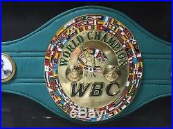Boxing Legend Mike Tyson Signed WBC Belt Framed With Photo Proof