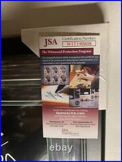Brian Dawkins Autograph Signed Eagles Smoke Spotlight 16x20 Framed JSA
