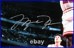Bulls Michael Jordan Authentic Signed 16x20 Framed Photo LE 231/300 UDA COA