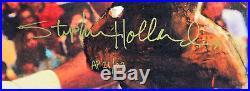 Bulls Michael Jordan Signed & Framed 27x41 Canvas Holland Artist Proof 21/23 UDA