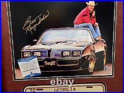 Burt Reynolds Smokey & Bandit Autographed Signed 11x14 Photo Custom Framed BAS