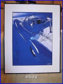 Carole Shelby. Framed Artwork. C. O. A. Autographed. Don't Pass This One Up