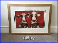 Caroline Shotton Limited Edition Medallions of Beef Signed Framed Picture