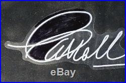 Carroll Shelby Signed Autograph Photo Framed Cobra GT-40 Ford Vs Ferrari JSA