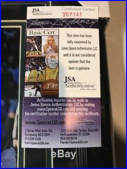 Carson Wentz Autograph Signed Eagles 8x10 Photo Collage Framed JSA