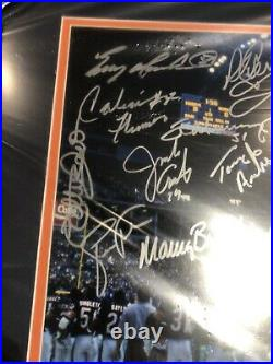 Chicago Bears Super Bowl XX 20 Framed Team Signed 16x20 FANATICS New Unopened
