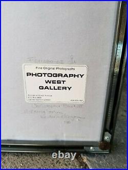 Christopher Burkett Signed Photograph