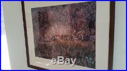 Christopher Burkett signed and framed original photo