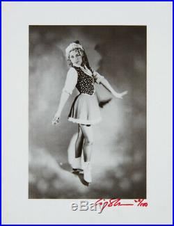 Cindy Sherman Untilted (ice Skater) 1979 Rare Signed Gelatin Silver Print