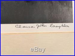 Clarence John Laughlin Original Photograph 1940 Elergy for Moss Land