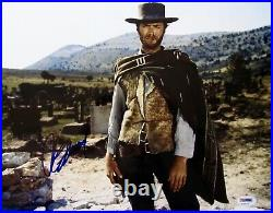 Clint Eastwood Hang' Em High Autographed Signed 11x14 Photo Psa/dna Loa Framed
