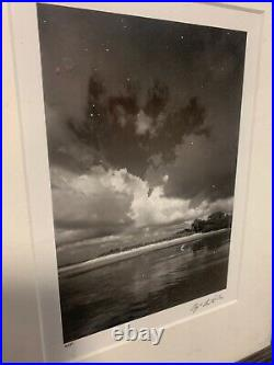 Clyde Butcher Signed Framed Matted Pelican Island 2003 Archival Carbon Print