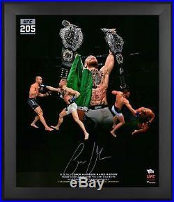 Conor McGregor UFC Framed Signed 20 x 24 UFC 205 In Focus Photo Fanatics