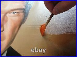 Custom FRAMED Portrait from Your Photo varnished painting Oil/canvas 12x16inches