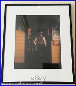 DAVID LEVINTHAL'Wild West' 1989 SIGNED Polaroid Polacolor ER Photograph Framed