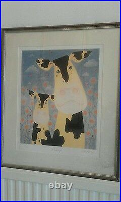 Daisy's Photo Lithography Limited Edition Signed By Mackenzie Thorpe