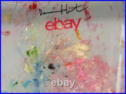 Damien Hirst PERSONALLY OWNED TShirt Original by Hand of the Artist NEW PHOTOS