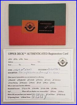 Dan Marino & Joe Montana Signed 1985 SI Cover UDA COA Framed Autograph Auto UD