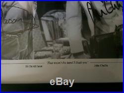 David Jason John Challis Framed Signed 16x12 Only Fools & Horses Photograph