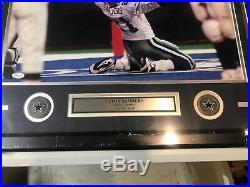 Deion Sanders Autograph Signed Cowboys 16x20 Photo Framed JSA
