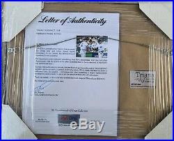 Derek Jeter Ichiro Suzuki Signed 8x10 Framed Autograph Photo PSA DNA LOA Auto